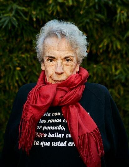 La fotógrafa Colita, en su casa de Barcelona.