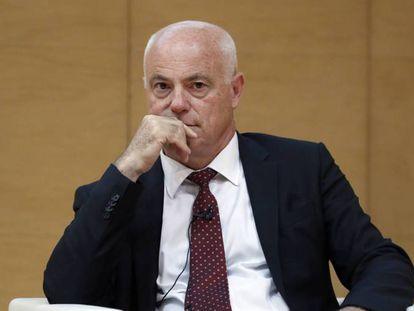 José Manuel Campa, presidente de la EBA (Autoridad Bancaria Europea), en una imagen de archivo.