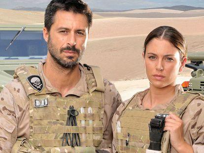 Hugo Silva y Blanca Suárez protagonizan 'Los nuestros'.