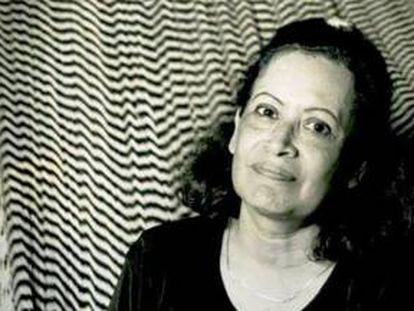 La poeta nicaragüense Ana Ilce Gómez.