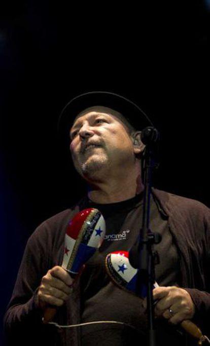 Rubén Blades en Viveros.