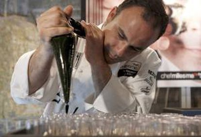 """Ángel León, del restaurante """"Aponiente"""" del Puerto de Santa María, considerado una de las figuras más destacadas de la cocina del Sur. EFE/Archivo"""