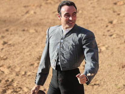 El torero Enrique Ponce, en Povedilla, Albacete, en octubre.