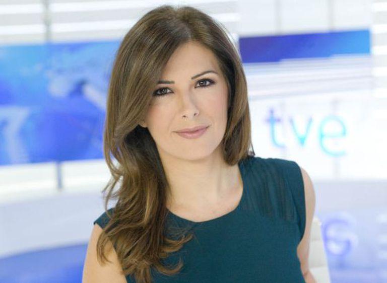 La presentadora de TVE Lara Siscar.