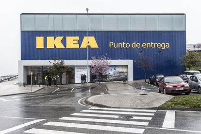 El punto de entrega de Ikea en Pamplona para recoger pedidos 'online'