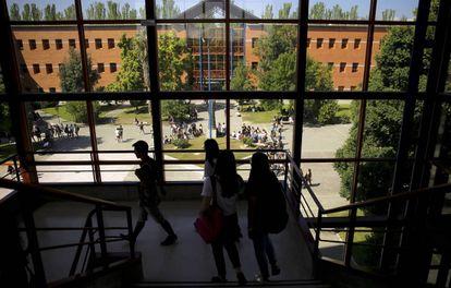 Imagen del campus de Vicálvaro de la Universidad Rey Juan Carlos de Madrid.