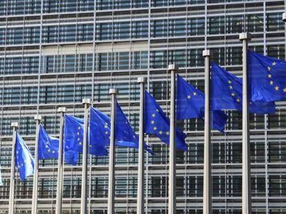 La sede de la Comisión Europea, en Bruselas.