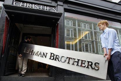 En septiembre de 2008. Lehman Brothers anunció su caída. Dos años después Londres, Nueva York y Filadelfia acogen la subasta de obras de arte de la firma.