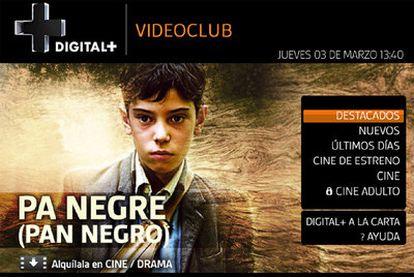 Digital + Videoclub presenta un interfaz de manejo intuitivo que no pide nuevos aprendizajes.