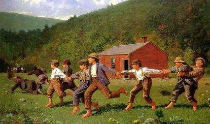 'Snap the whip', de Winslow Homer.