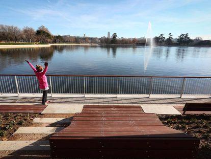 La reforma integral del lago de la Casa de Campo. Haz click sobre la imagen para ver más fotos.
