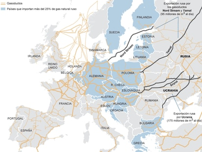 Fuente: Gas Infrastructure Europe, Reuters.