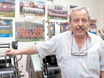 Tomás Tocino Maquieira, hijo de Tomás Tocino García, el creador del Dinámico, y continuador de su tarea hasta ahora mismo.