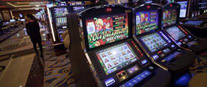 Una de las salas del nuevo casino Sands Cotai Central, inaugurado en Macao por Sheldon Adelson.