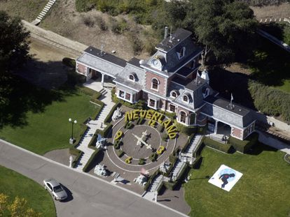 Panorámica de uno de los edificios de Neverland.  |