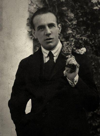 Ignacio Sánchez Mejías, en su juventud, en una fotografía del archivo de su familia.
