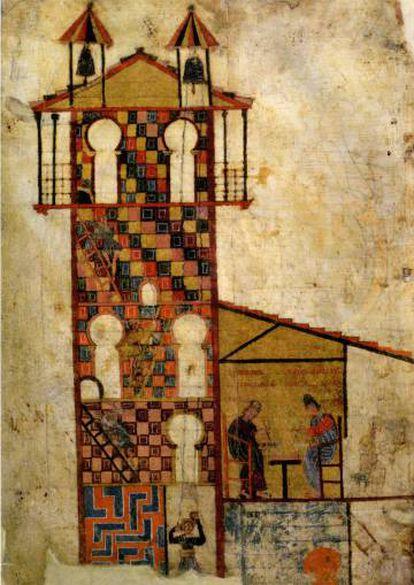 Facsímil del 'Beato de Tábara', siglo X.