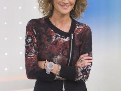 La periodista Ana García Lozano.