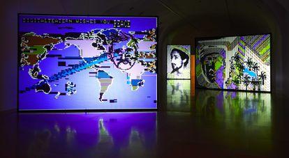 Imagen de la exposición 'Llévame a otro mundo', de Charlotte Johannesson, en el Reina Sofía.