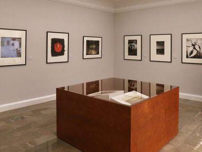 Nueva sala permanente de fotografía de la Real Academia de Bellas Artes de San Fernando, en Madrid.