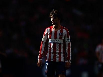 João Félix, durante un partido reciente con el Atlético.