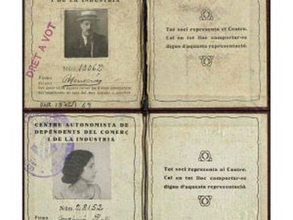 Carnets de quatre afiliats al CADCI.