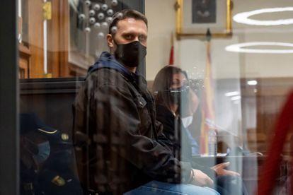 Norbert Feher, alias 'Igor el Ruso', durante el juicio, el pasado 22 de abril.
