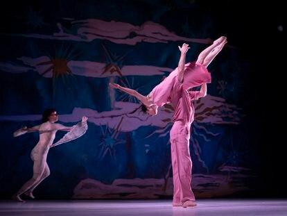 Ensayo del ballet 'La Noche de San Juan', dirigido por Antonio Ruz.