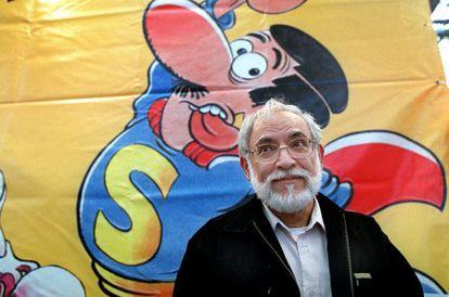Jan, en el Salón del Cómic de Barcelona en 2002.
