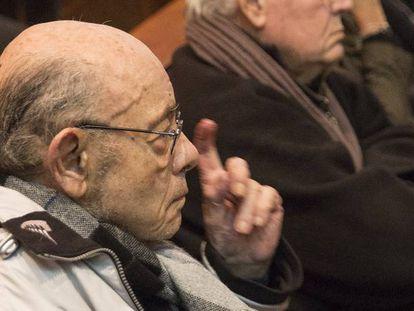 Millet, el 5 de febrero, antes de ingresar en prisión.