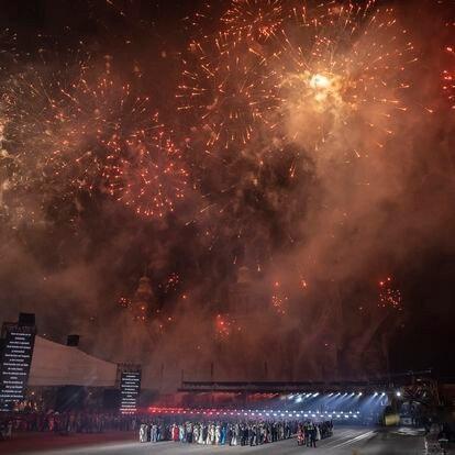 Se llevó a cabo la ceremonia de conmemoración de 200 años de la consumación de la independencia de México en el Zócalo de la Ciudad de México, con la presencia del Presidente de México, Andrés Manuel López Obrador, el 27 de Septiembre de 2021.