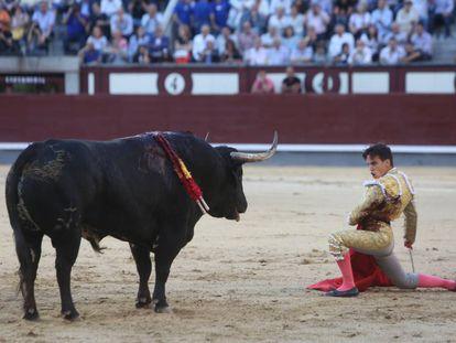 Gonzalo Caballero, en Las Ventas, el pasado 29 de mayo.