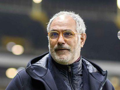 Andoni Zubizarreta, en su etapa como director deportivo del Olympique de Marsella