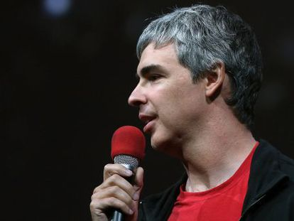 Larry Page, presidente ejecutivo de Google.
