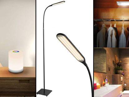 Proponemos una serie de lámparas led para abarcar todas las estancias del hogar.
