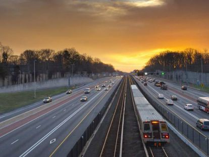Tramo de la autopista I-66, en Virginia del Norte (EE UU).