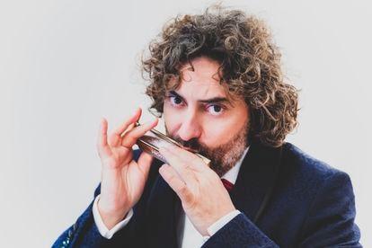 El músico Antonio Serrano.