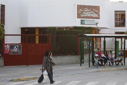 Exterior del instituto público de Las Cabezas de San Juan (Sevilla).