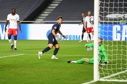 El Leipzig se enfrentaba al PSG en el partido de semifinales de la Champions League. Michael Regan/Getty Images via U / DPA