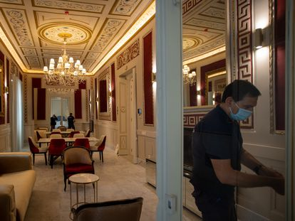 Interior de uno de los nuevos hoteles de Hotusa en Cádiz.