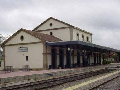 Estación de Plasencia.