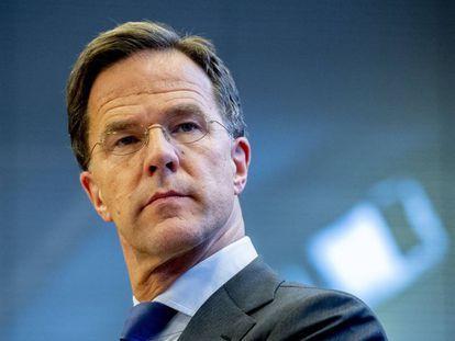 El primer ministro holandés, Mark Rutte,