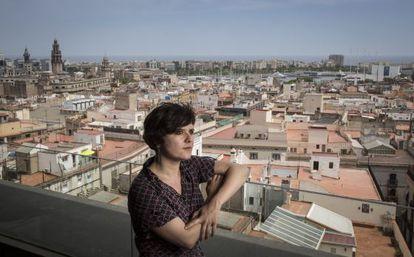 La concejal Gala Pin, en el Ayuntamiento de Barcelona.