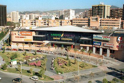 Sucursal de Eroski en el Centro Comercial Larios de Málaga.