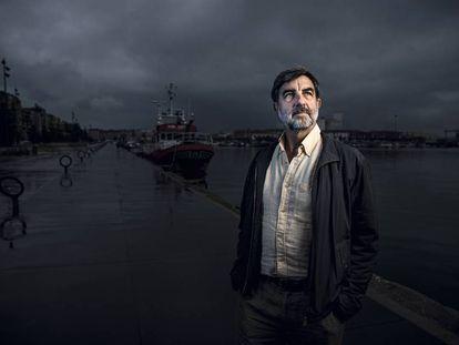 Francisco Sánchez, investigador del Instituto Español de Oceanografía (IEO) con sede en Santander.