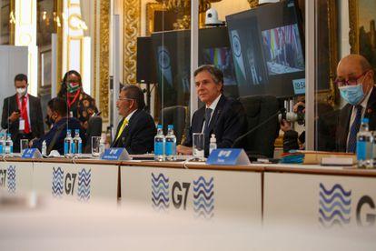 Encuentro del G7 en Londres, a inicios de mayo.