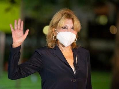 La baronesa Carmen Cervera, en octubre del pasado año.