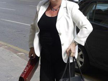 Milagrosa Martínez se dirige al TSJ para una declaración como imputada.