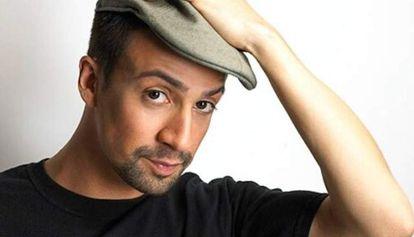 El actor, director y músico puertorriqueño Lin-Manuel Miranda.