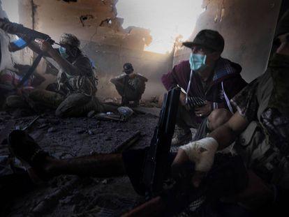 Combates (Libia, 2016).